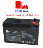 12V7ah Rechargeable Medical Equipment Lead Acid Battery