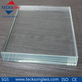 6.38mm-16.76 Low-Iron Safety Laminated Float Glass with Ce&ISO9001