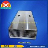 Large Power Aluminum Profile Heatsink for Electrical Device.