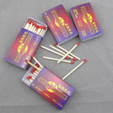 Wooden Color Match Sticks Safety Matches