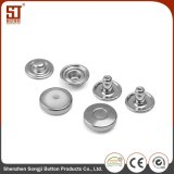 OEM Custom Monocolor Round Individual Metal Snap Button for Jacket