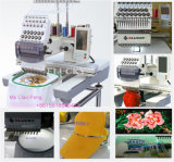Commercial Computer Single Head Embroidery Machine for Cap T-Shirt Flat Embroidery