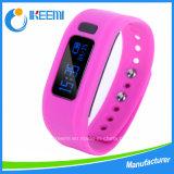 Custom Charm Fitness/Sport Bangle Silicon/Silicone USB Watch Bluetooth Smart Bracelet
