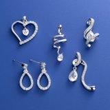 Fashion Jewelry CZ Earrings Pendants