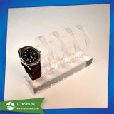 Practical Plexiglass Watch Display Rack, Acrylic Watch Display Stand