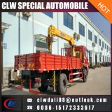 4 Ton Truck Mounted Crane, Truck Crane with Different Arms, LHD or Rhd Is Optional