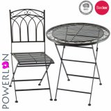 New Style Metal Iron Patio Set Table and Chairs with Powder Coated