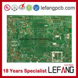 Signal Amplifier Electronics Rigid Circuit Board PCB with ISO 9001