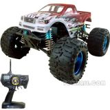 RC Gas Car - 1:8 Scale 28 Engine Powered 4WD Monster Truck (RCH58200)