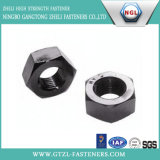 Heavy Black Hex Nuts with Carbon Steel