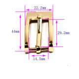 Hot Sale Metal Zinc Alloy Harness Buckle Pin Belt Buckle for Garment Shoes Handbags (Yk1303)