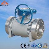 Forged Steel Spit Body Reduced Port Trunnion Ball Valve (Q347F)