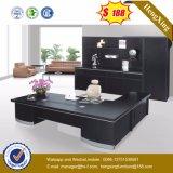 Black Color Luxury Design Silver Painting Office Desk (HX-ET14080)