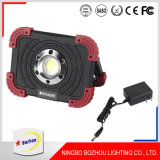 Wholesale Custom 10W/15W Rechargeable LED Flood Light Outdoor