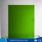 Blue Patterned/Figured Glass/Green Karatachi Glass with Ce Certificate