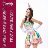 Clown Halloween Adult Costume Fancy Dress Set (L1320)