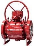 API 6D Forged A105 3PC Trunnion Ball Valve