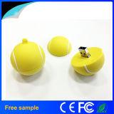 Promotional Gift Custom 3D Tennis Ball PVC USB Flash Drive 4GB