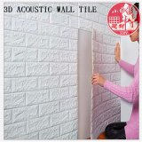 Decorative PVC 3D Soundproof Self Adhesive Brick for Rideo Room
