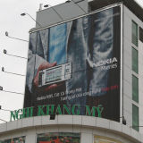 Aluminium Alloy Outdoor Advertisement Trivision Billboard