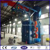 Valve Plant Steel Descaling Cleaning Equipment, Hook Type Shot Blasting Machine