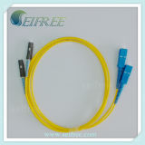 Mu Sc Singlemode Simplex/Duplex Fiber Optic Patch Cord