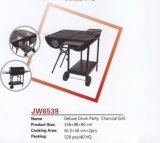 Deluxe Drum Party Charcoal BBQ Grill