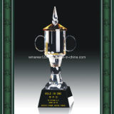 Customized Crystal Award with K9 Material Height 35cm