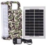 Military Camouflage Solar Emergency Light