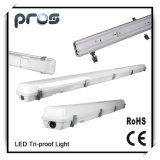 4 Feet IP65 Tri-Proof LED Light Fixture 40W with Emergency Device for 3 Years Warranty