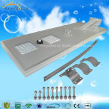 5W-120W Outdoor Luminaria Integrated All in One LED Solar Street Garden Light with CCTV Camera