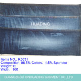 Polyester Spandex Cotton Denim Fabric for Jeans (R5631)