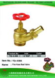 "Pressure Reduce Angle Hydrant Valve: 1-1/2""Bsp=D25"
