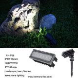 CE, RoHS IP65 Garden RGB LED Underground Light