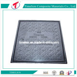 Burglarproof Square Casting Manhole Cover for Fiber Optic Cable Ducts