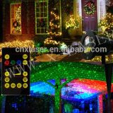 Red and Green Moving Eight Flower Garden Laser for Christmas