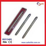 2015 Cheap Medical Diagnostic Pen with Tongue Depressor Spatula Cilp Light Lamp