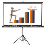 Floor Stand Tripod Portable Projector Projection Screen Home Theater