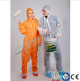 Nonwoven Spp SMS Mf Coverall Disposable Protective Garment