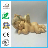 Lovely Polyresin Home Decoration Angel Figurine for Gifts