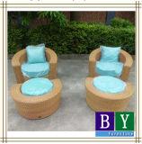 PE Rattan Garden Chatting Set Leisure Chair