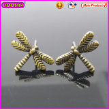 Wholesale Vintage Dragonfly Elegant Metal Earrings (21615)