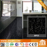 Plati Homogeneous Full Body Nano Porcelain Black Floor Tile (J6P15)