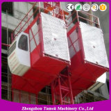 Double Cage Construction Lifter Construction Hoist Construction Elevator