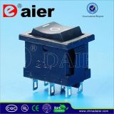 on off on 3 Positions Rocker Switch T85 Le4