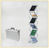 Foldable Magazine Display Stands Acrylic Leaflet Holder (A4)