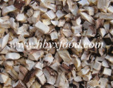 Dried Shiitake Mushroom Flakes Granules From Shiitake Leg
