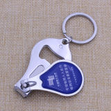 Promotional Gifts Custom Nail Clipper with Bottle Opener Keychain