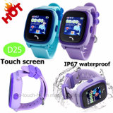 Safety Child/Kids GPS Tracker Watch with Colorful Touch Screen D25