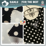 Double Side Printed Habijabi Chiffon Bonded Fabric for Women Dress